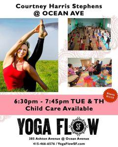 Yoga Flow SF Schedule